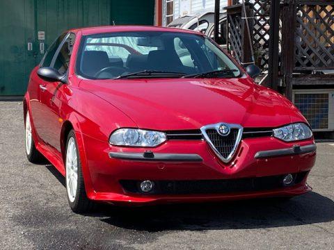 アルファロメオ156TS ロッソコルセ 限定300台の稀少車